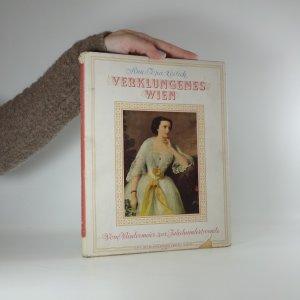 náhled knihy - Verklungenes Wien