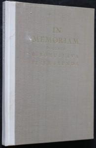 náhled knihy - In memoriam docenta Dr. Bohuslava Feierabenda