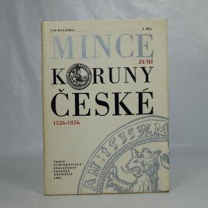 náhled knihy - Mince zemí Koruny české 1526-1856 (1. díl)