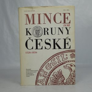 náhled knihy - Mince zemí Koruny české 1526-1856 (3. díl)