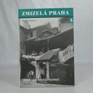 náhled knihy - Zmizelá Praha 3. Židovské město pražské
