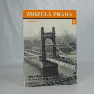 náhled knihy - Zmizelá Praha 5. - Opevnění, Vltava a ztráty na památkách 1945
