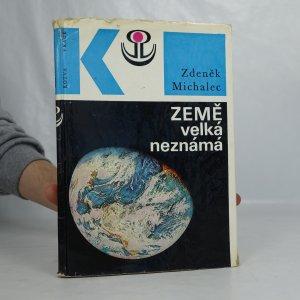 náhled knihy - Země velká neznámá