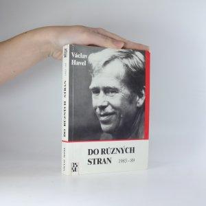 náhled knihy - Do různých stran. Eseje a články z let 1983 - 1989