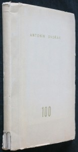 náhled knihy - Sborník k oslavě stoletých narozenin Antonína Dvořáka 1841-1941