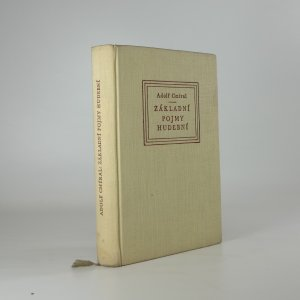 náhled knihy - Základní pojmy hudební