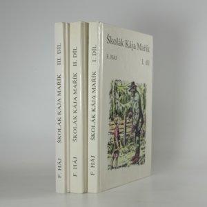 náhled knihy - Školák Kája Mařík I. - III. díl (3 svazky)