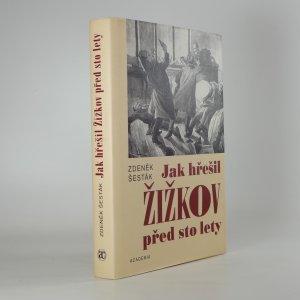 náhled knihy - Jak hřešil Žižkov před sto lety