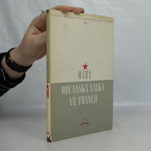 náhled knihy - Občanská válka ve Francii