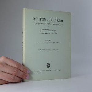 náhled knihy - Aceton bis Zucker