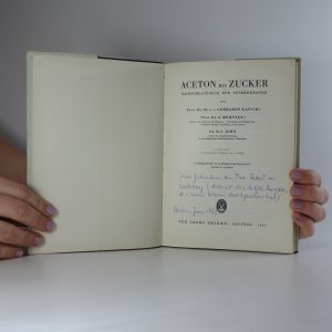 antikvární kniha Aceton bis Zucker, 1966