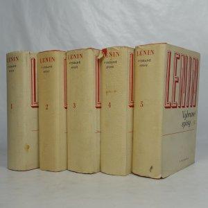náhled knihy - Vybrané spisy v pěti svazcích