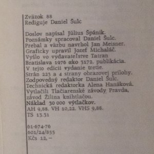 antikvární kniha Valgatha, 1976
