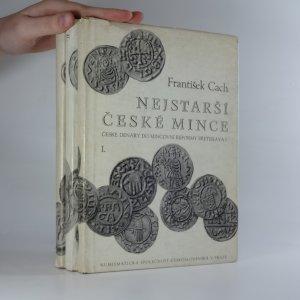 náhled knihy - Nejstarší české mince I.-III. díl (3 svazky)