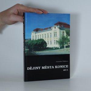 náhled knihy - Dějiny města Konice 2. díl