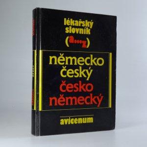 náhled knihy - Lékařský slovník německo-český a česko-neměcký