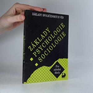náhled knihy - Základy společenských věd. Základy psychologie, sociologie