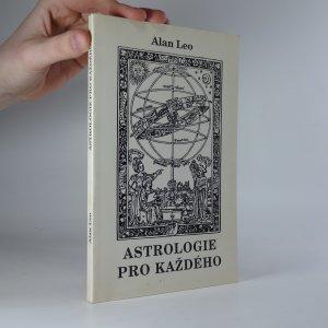 náhled knihy - Astrologie pro každého