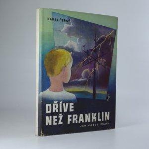 náhled knihy - Dříve než Franklin
