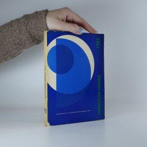 náhled knihy - Hvězdářská ročenka 1963