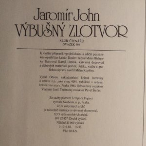 antikvární kniha Výbušný zlotvor : o muži, kterého pronásledovala auta, 1983
