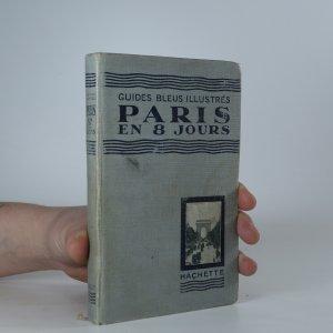 náhled knihy - Paris en huit jours et une journée a Versailles