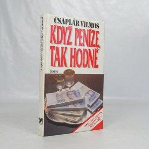 náhled knihy - Když peníze, tak hodně