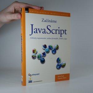 náhled knihy - Začínáme s JavaScriptem