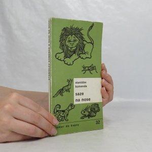 náhled knihy - Saze na nose