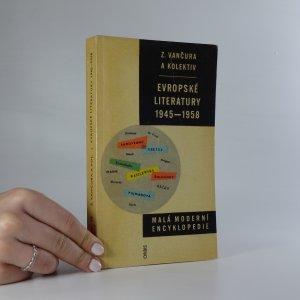 náhled knihy - Evropské literatury 1945-1958