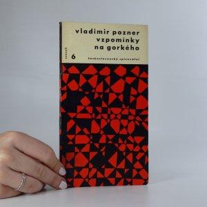 náhled knihy - Vzpomínky na Gorkého