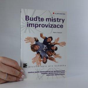náhled knihy - Buďte mistry improvizace
