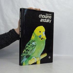 náhled knihy - Chováme andulky