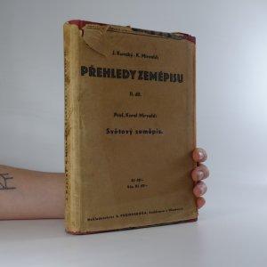 náhled knihy - Přehledy zeměpisu. II. díl