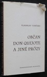 náhled knihy - Občan Don Quijote a jiné prózy