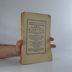 náhled knihy - Kuriosní historický kalendář M. Jana Husi