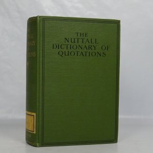 náhled knihy - The Nuttall Dictionary of Quotations