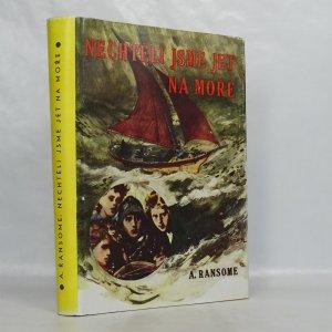 náhled knihy - Nechtěli jsme jet na moře (xeroxová obálka)