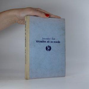 náhled knihy - Vydržte až do finiše!