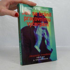 náhled knihy - Jak se bránit pracovnímu vyčerpání :