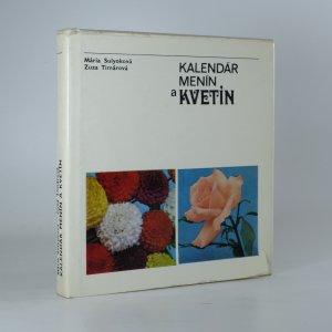 náhled knihy - Kalendár menín a kvetín