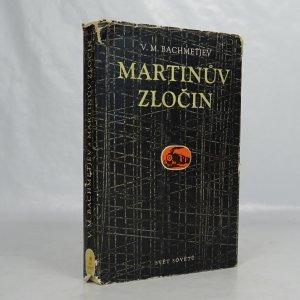 náhled knihy - Martinův zločin