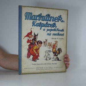 náhled knihy - Marbulínek, Kašpárek a pejsek Fenek na venkově