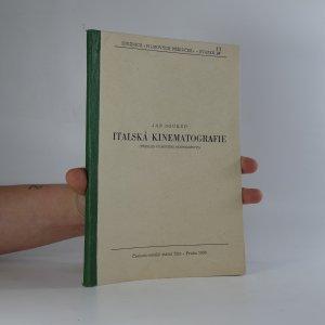 náhled knihy - Italská kinematografie (přehled filmového hospodářství)