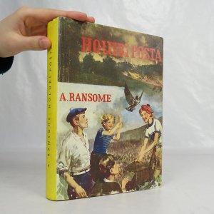 náhled knihy - Holubí pošta (xeroxová obálka)