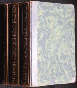 náhled knihy - Geschichte der Malerei ( I - III díl)