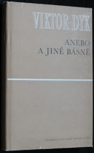 náhled knihy - Anebo a jiné básně
