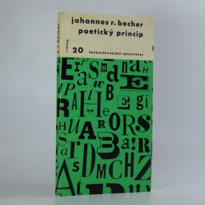 náhled knihy - Poetický princip
