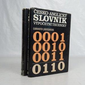 náhled knihy - Česko-anglický a anglicko-český slovník výpočetní techniky (2 svazky)
