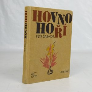 náhled knihy - Hovno hoří